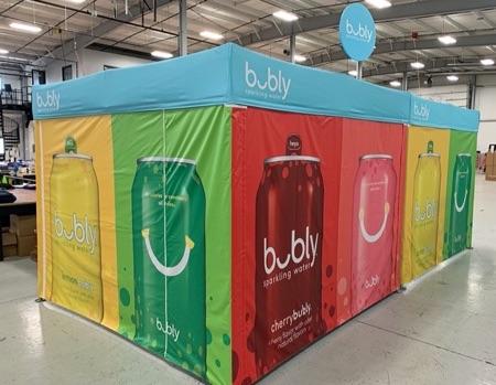 Heavy duty 10x10 Bubly pop up tents
