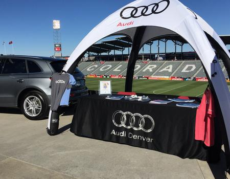 Audi Branded Inflatable Event Tent