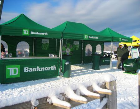 Bank North Business Pop-Up Tents