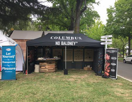 Columbus Craft Meats Concession Tent