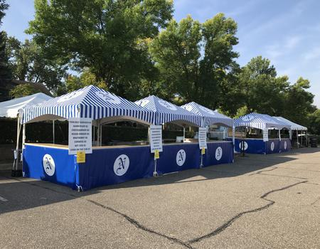 Concession Tents with Counters
