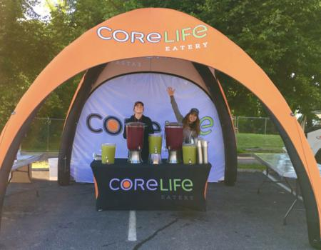 Core Life Eatery Sampling Inflatable Tent