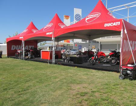 Ducati Dealership Frame Tents