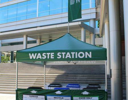 Event Recycling Booth