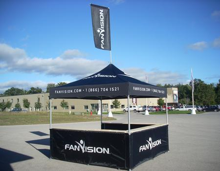 Fan Vision Booth Tent