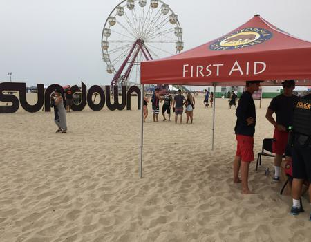 Festival First Aid Tent