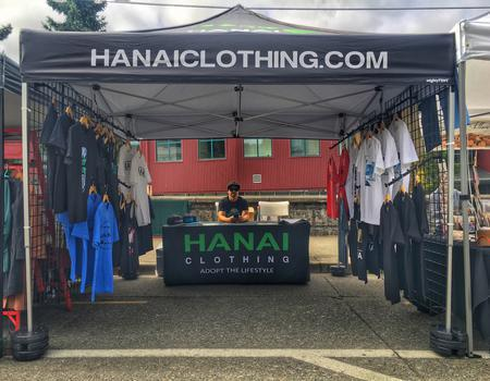 Hanai Clothing Pop-Up Storefront