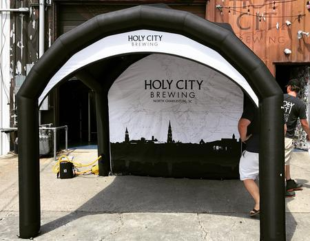 Holy City Brewing Festival Inflatable Tent