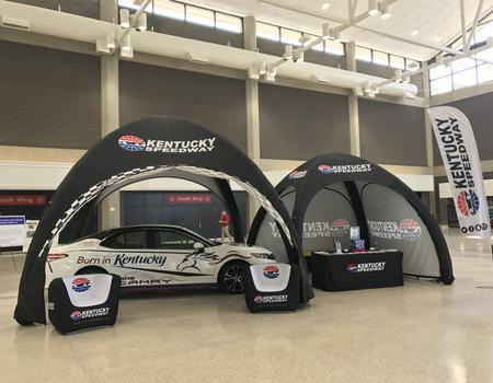 Kentucky Speedway Inflatable Race Tents