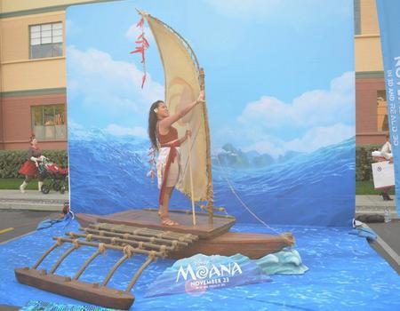 Moana Disney Custom Promotional Display