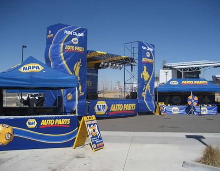 NAPA Branded Tents and Assets for Event Sponsorship