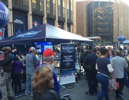 NY Rangers Activation