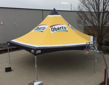 Oberto Hexagon Frame Tent