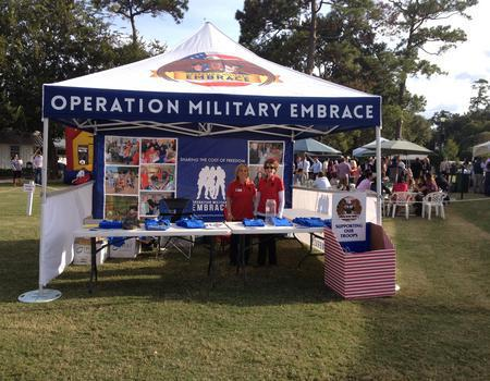 Operation Military Embrace Festival Tent