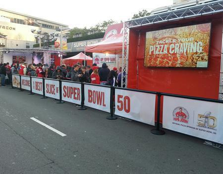 Papa Johns Super Bowl Activation
