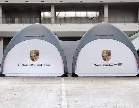 Porsche Inflatable for Ride and Drive