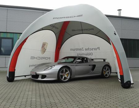 Porsche Inflatable Structure with Branding