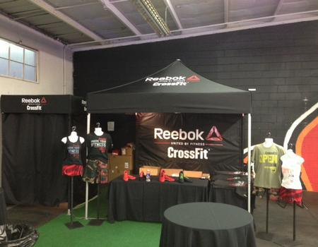 Reebok Changing Booth