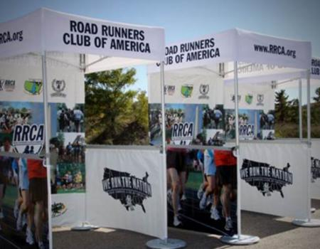 Road Runners Race Event Tent
