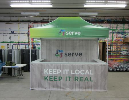 Serve Event Booth