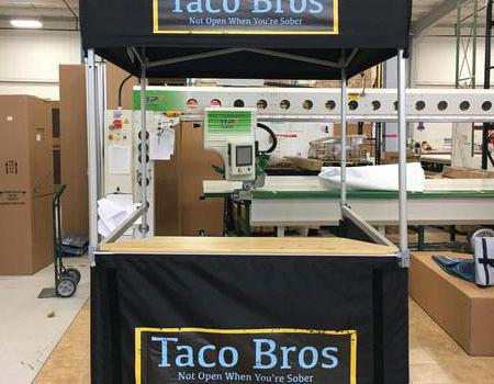 Taco Bros Concession Tent