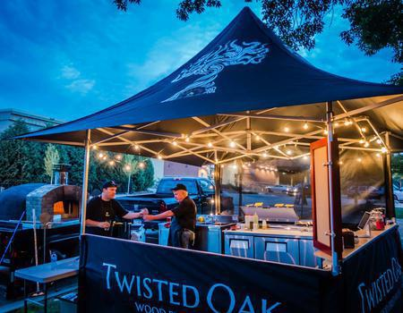 Twisted Oak Food Service Tent