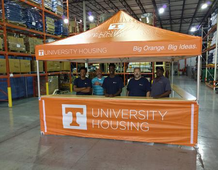 University of Tennessee Campus Tent
