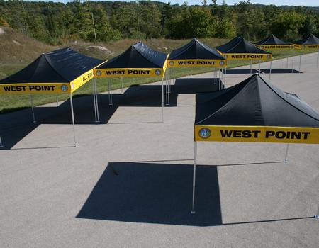 West Point Branded Military Tents