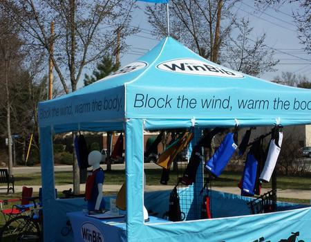 WinBib Outdoor Booth