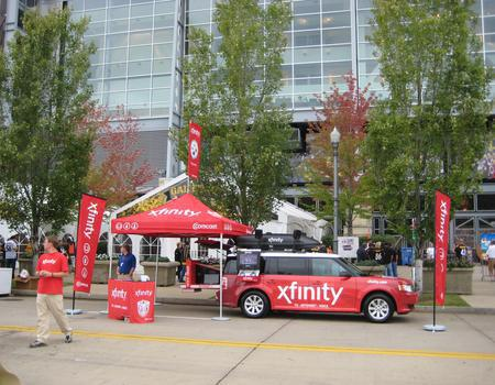 Xfinity Mobile Tour Display