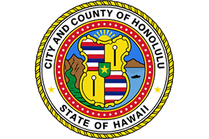 Logo for City and County of Honolulu