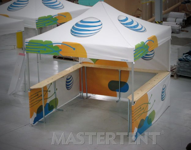 AT&T - 10x10 Mastertent with Counters