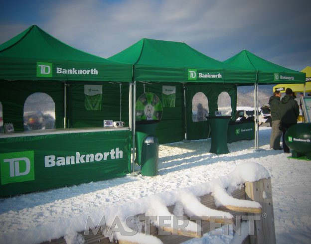 Bank North - 10x10 & 10x15 MasterTent