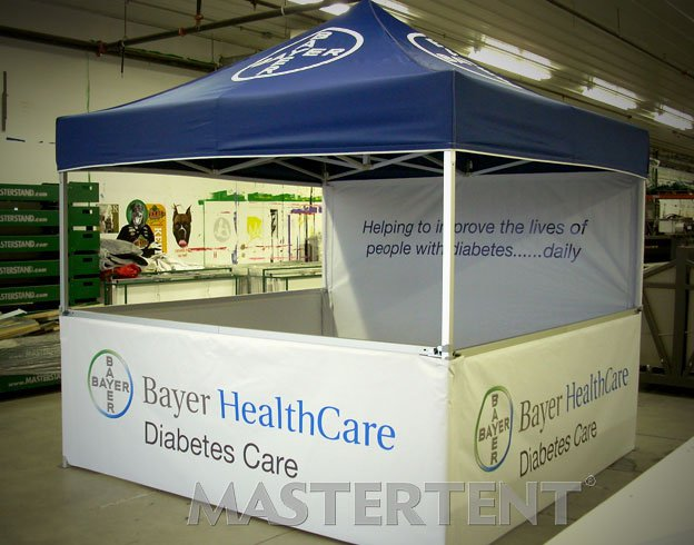 Bayer Health Care - 10x10 Mastertent