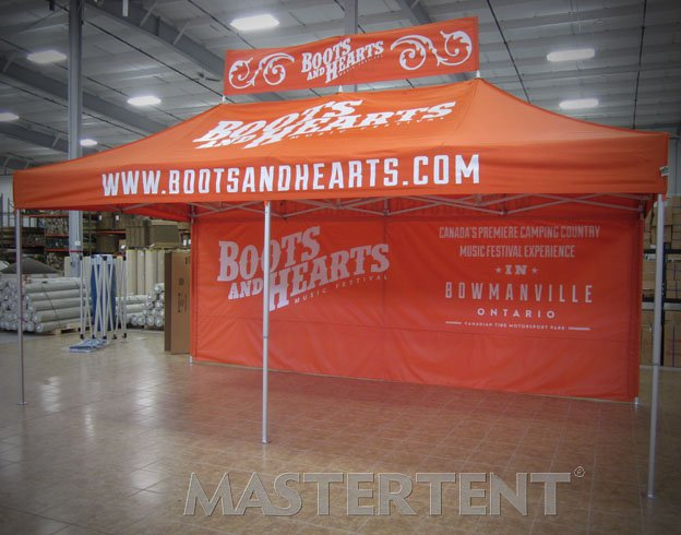 Boots and Hearts - 10x20 MasterTent