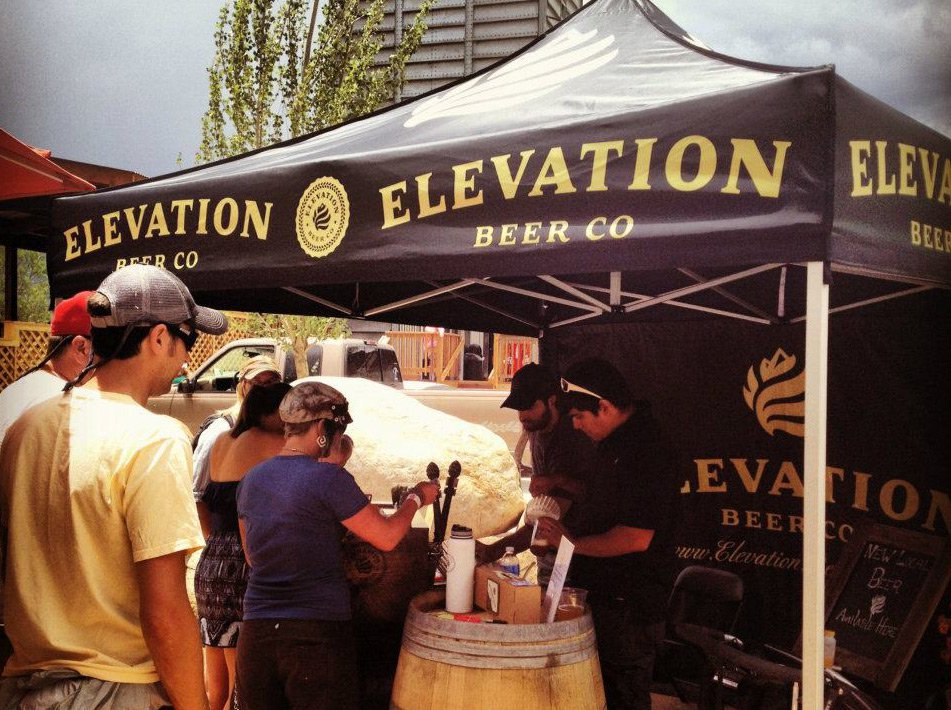 Elevation Beer Company - 10x10 Mastertent