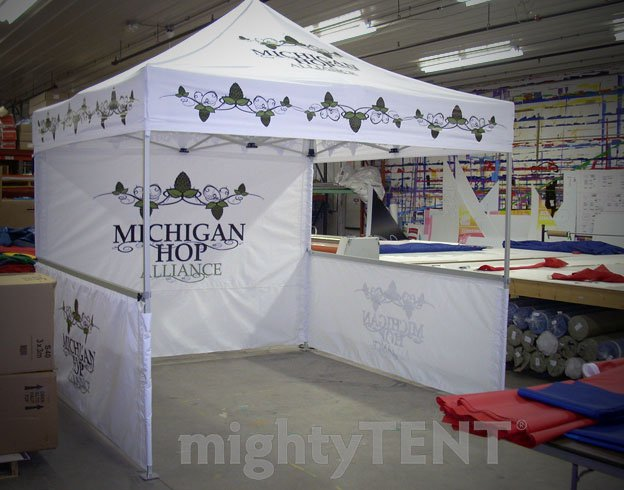 Michigan Hops Alliance - 10x10 MasterTent