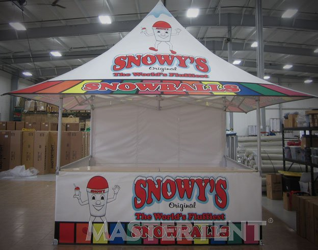 Snowy's - 10x10 MasterTent Shop Model