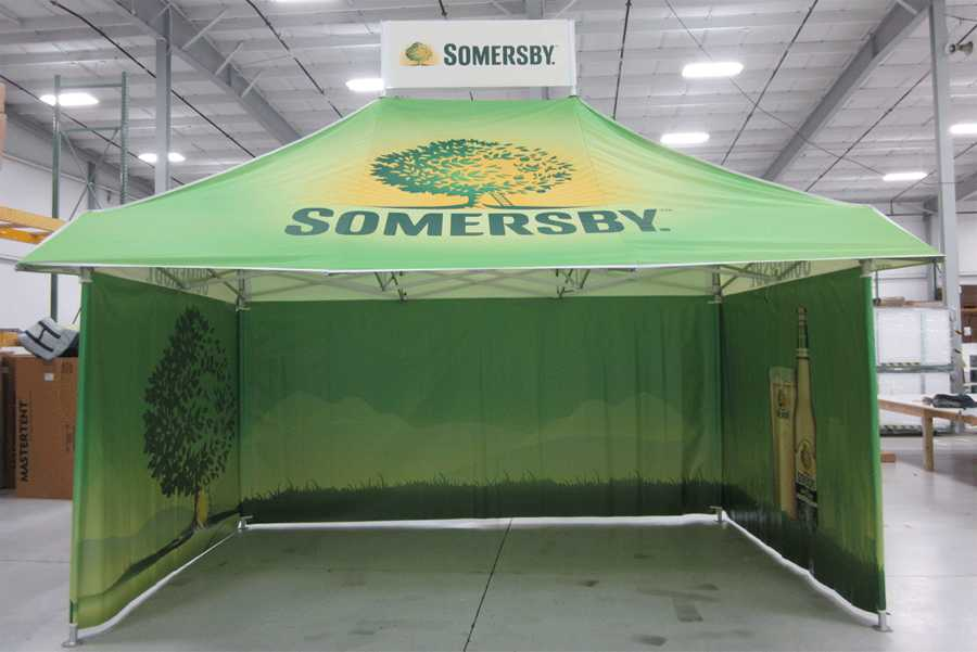 Somersby - 10x15 Storefront Pop Up Tent