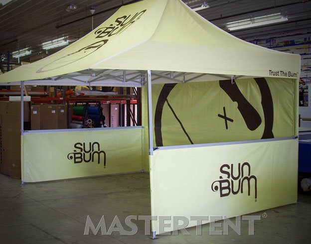 Sun Bum - 10x10 MasterTent Shop Model