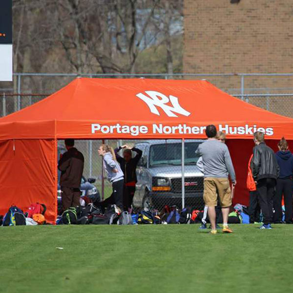 Pop Up Tents for Track and Field Teams