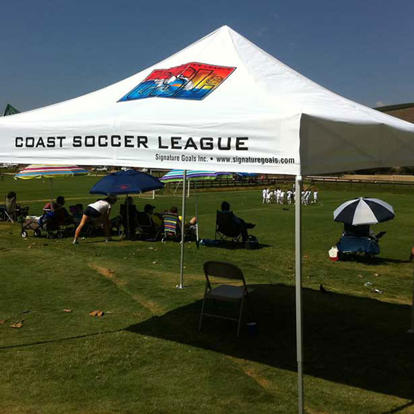 10X10 Team Soccer Tent & Team Tents for Schools u0026 Athletics Organizations