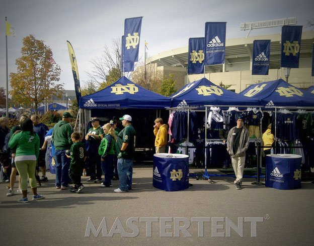 University of Notre Dame - 10x10 & 10x20 MasterTent