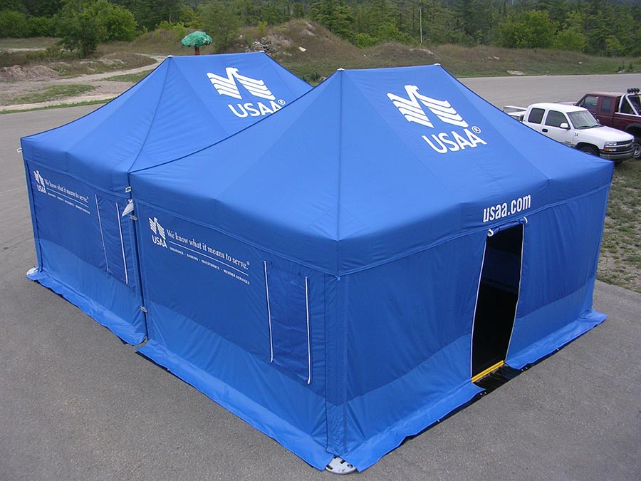 #043 USAA - 13x20 Event Tents & All Promotional Tents u0026 Event Signage