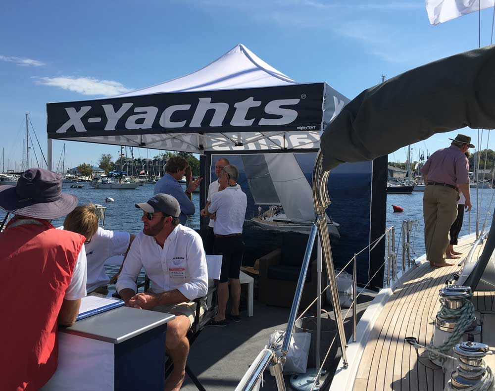 X-Yachts - 10x10 Mightytent