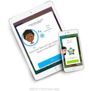 UNICEF's Kid Powe app