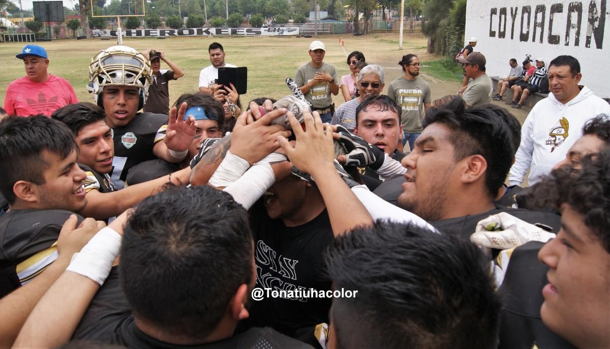 Enfrentamiento de tribus en Culhuacán en la semana 6 de la Intermedia de OFAMO