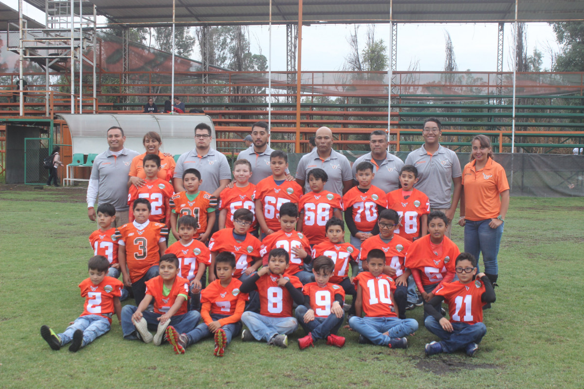 Presentación en categorías infantiles de Vaqueros Xochimilco