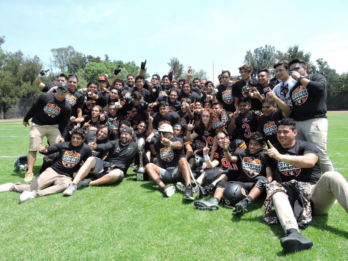 Coyotes UNAM Campeones en Juvenil Otoño ONEFA
