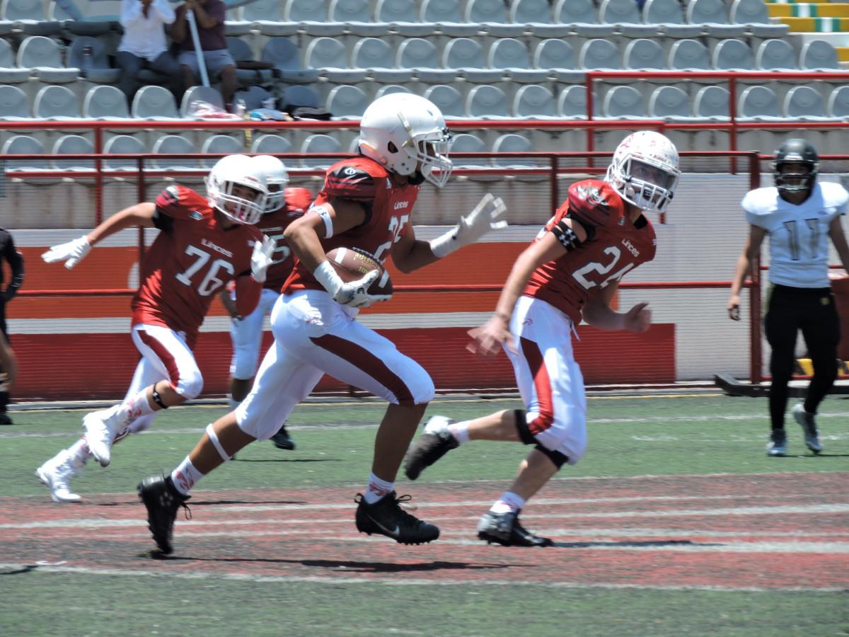 Pretemporada entre Linces UVM y Bulldogs Dorados en Infantiles de ONEFA